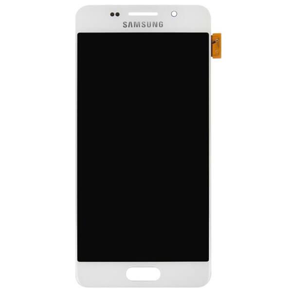 تاچ ال سی دی گوشی موبایل سامسونگ SAMSUNG GALAXY A310 / A3 2016 اورجینال گلس تعویض سفید