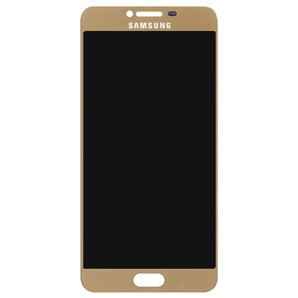 تاچ ال سی دی گوشی موبایل سامسونگ SAMSUNG GALAXY C7 / C7000 ساخت چین OLED طلایی مات