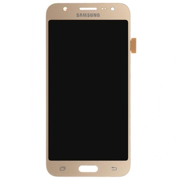 تاچ ال سی دی گوشی موبایل سامسونگ SAMSUNG GALAXY J500 / J5 2015 مشکی طلایی سفید