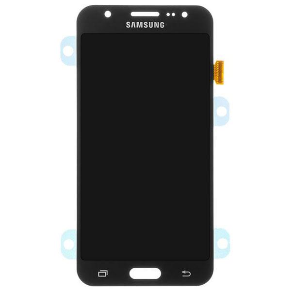 تاچ ال سی دی گوشی موبایل سامسونگ SAMSUNG J700 / J7 2015 سفید مشکی طلایی