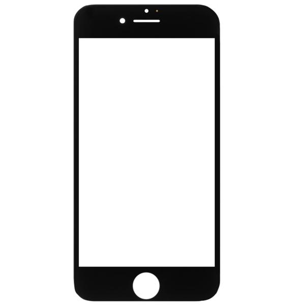 گلس تعمیراتی آیفون IPHONE 7 با فریم اورجینال سفید مشکی