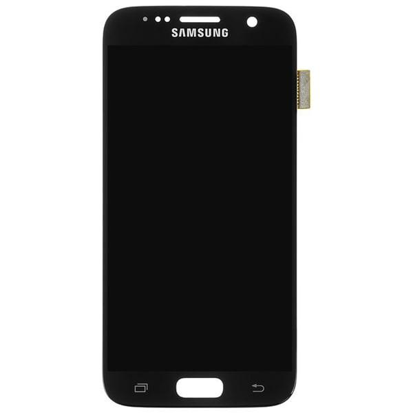 تاچ ال سی دی گوشی موبایل سامسونگ SAMSUNG S7 / G930 طلایی مشکی سفید