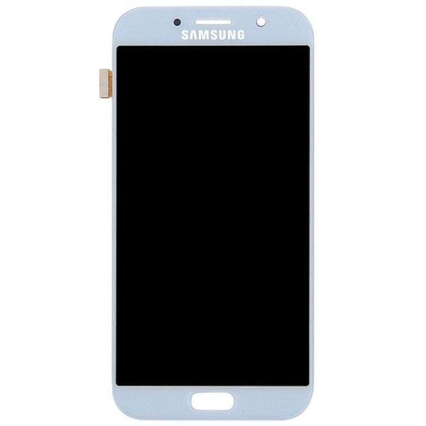 تاچ ال سی دی گوشی موبایل سامسونگ SAMSUNG GALAXY A720 / A7 2017 طلایی آبی مشکی