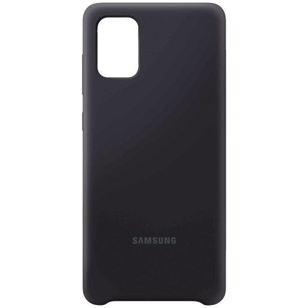 قاب سیلیکونی گوشی سامسونگ SAMSUNG A71/ A715 مشکی