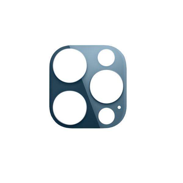 گلس لنز دوربین گوش موبایل آیفون IPHONE 12 PRO MAX نقره ای گرافیتی طلایی آبی