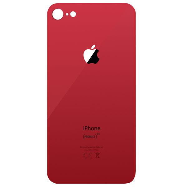 درب پشت گوشی آیفون IPHONE 8 قرمز طلایی مشکی سفید