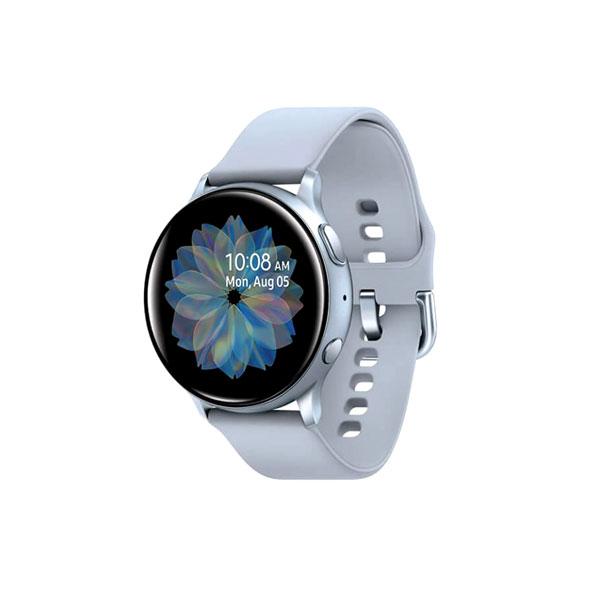 ساعت هوشمند سامسونگ SAMSUNG GALAXY WATCH ACTIVE 2 / R830 40MM اورجینال نقره ای